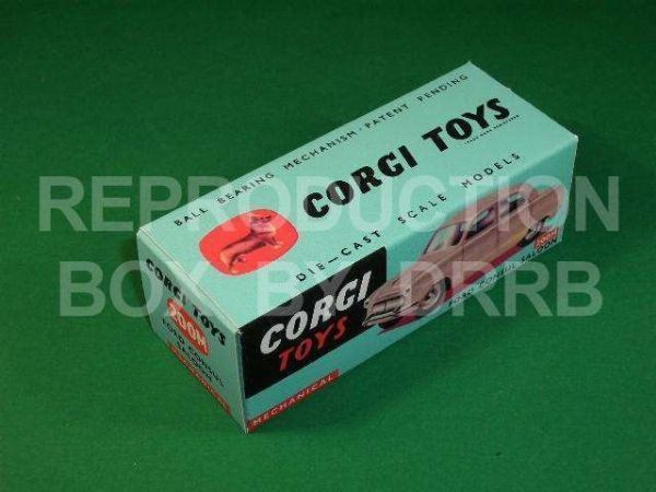 Corgi #200M Ford Consul Saloon - Reproduction Box
